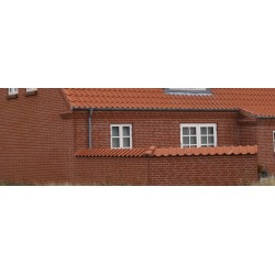 Klinkerinė plyta Randers Tegl RT 307 Red soft-moulded Gandrup Brickwork