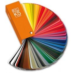 RAL K5 spalvų paletė