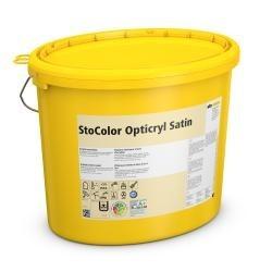 StoColor Opticryl Satin - vidutinio blizgumo akriliniai dažai sienoms ir luboms